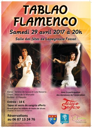 Spectacle Flamenco à Lapeyrouse-Fossat
