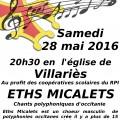 Concert à Villariès