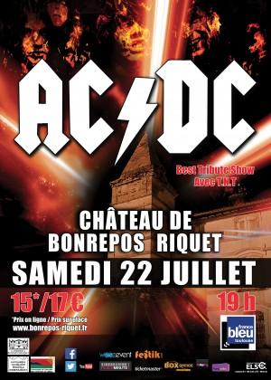 Concert spécial AC/DC au château de Bonrepos Riquet