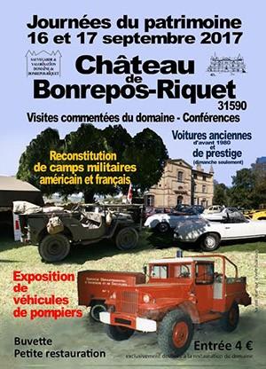Journées du patrimoine à Bonrepos Riquet