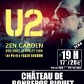 Concert U2 Zen Garden Tribute Band au château de Bonrepos Riquet