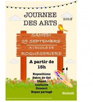 Journée des arts à Roquesérière