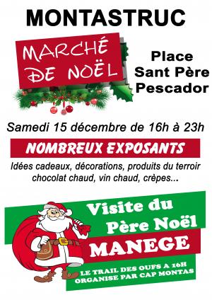Marché de Noël à Monstastruc La Conseillère