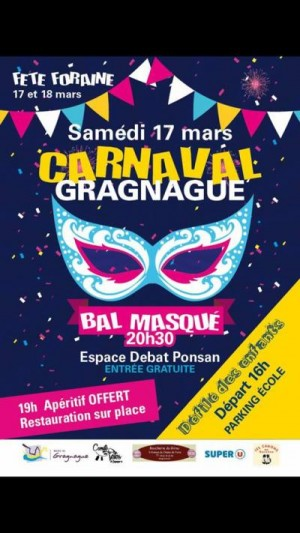 Fête du printemps et carnaval à Gragnague