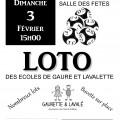 Loto des écoles à Lavalette