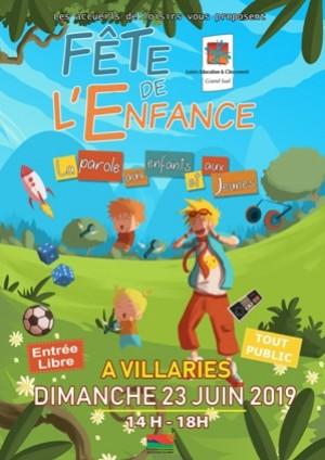 Fête de l'enfance à Villariès