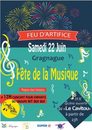 Fête de la musique à Gragnague