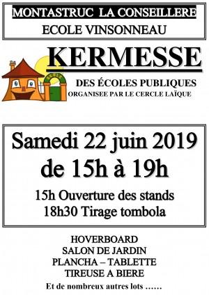 Kermesse à Montastruc la Conseillère