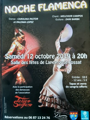 Noche Flamenca à Lapeyrouse-Fossat