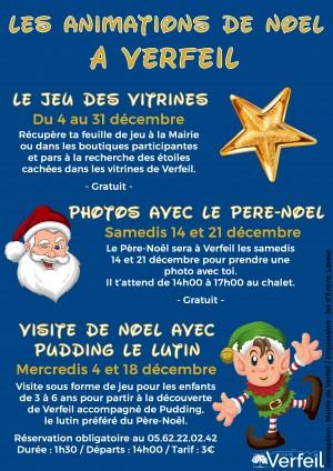 Un mois de décembre animé pour fêter Noël à Verfeil