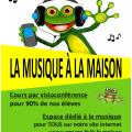 La musique à la maison avec l'école de musique de Gragnague