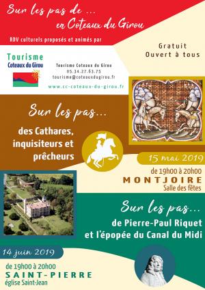 Conférence : Sur les pas de Pierre-Paul Riquet et de l'épopée du canal du midi
