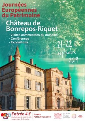 Journées Européennes du Patrimoine - Château de Bonrepos-Riquet