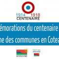 Programme des communes : commémorations du centenaire de l'armistice 1914-1918