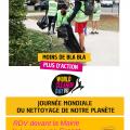 Journée Mondiale du Nettoyage de notre Planète à Lapeyrouse-Fossat