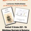 Lectures théâtralisées à Montastruc